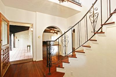 Egy rendkívül kecses lépcsőkorlát