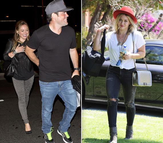 A még mindig csak 27 éves amerikai színésznő és énekes, Hilary Duff 157 centi magas. 2010-ben házasodott össze férjével, Mike Comrie kanadai jégkorongossal. 2012-ben megszületett első kisfiuk, Luca.