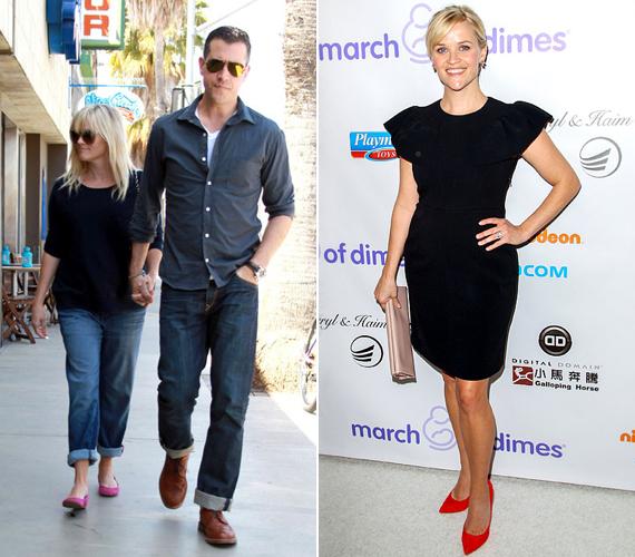 A 39 éves, Oscar-díjas Reese Witherspoon, a Vadon című film sztárja 156 centi magas. Volt férjétől, Ryan Philippe-től két gyermeke született, egy kisfiú és egy kislány. 2007-ben elváltak, Reese pedig 2011-ben hozzáment új kedveséhez, Jim Toth-hoz, akitől szintén született egy gyermeke.