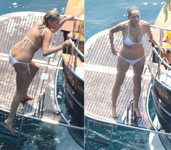 Sharon Stone-ra örökre úgy emlékeznek a filmrajongók, mint az Elemi ösztön bombázójára. Bár azóta a színésznő 57 éves lett - a sikerfilm idején 34 volt -, alakja még mindig irigylésre méltó, és ezt bikiniben sem fél megmutatni.