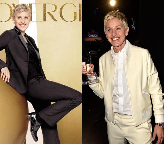 """Ellen DeGeneres, a délutáni beszélgetős műsorok ismert arca most 57 éves, és már 2008 óta a CoverGirl kozmetikumok arca. """"Azt hiszem, ahogy az ember egyre öregebb, úgy érzi magát egyre jobban a saját bőrében"""", mondta korábban egy díjátadón."""