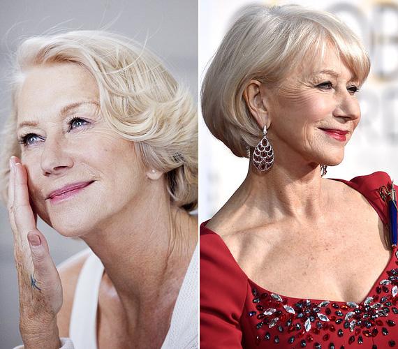 """Az Oscar-díjas Helen Mirrennek olyan a hozzáállása a saját külsejéhez, hogy azzal bárki tud azonosulni. """"Nem vagyok szép, sohasem voltam az, de azt hiszem, mindig rendben van a külsőm, és szeretném is, hogy ez így maradjon. Remélem, hogy más nőket is tudok inspirálni abban, hogy nagyobb önbizalommal hozzák ki az adottságaikból a maximumot, hiszen ez mindenkinek jár"""" - indokolta, miért is vállalta el a francia szépségápolási cég felkérését. A kampányfotókon látszik, hogy nem retusálták le a színésznő ráncait, bizonyítva, hogy így is ugyanolyan vonzó nő."""