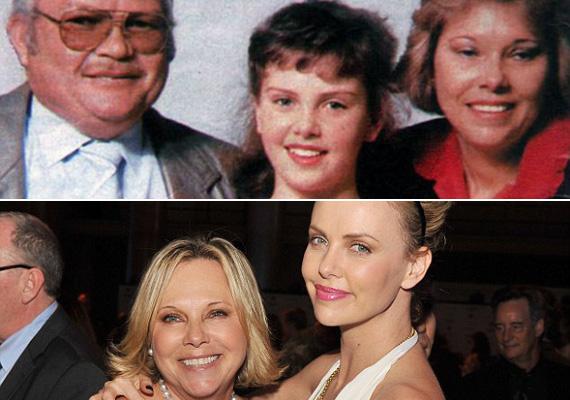1991-ben Charlize Theron édesanyja, Gerda, lelőtte alkoholista férjét, aki rátámadt. A rendőrség elismerte az önvédelmet, nem emeltek ellene vádat. Az Oscar-díjas színésznő 16 éves volt akkor.