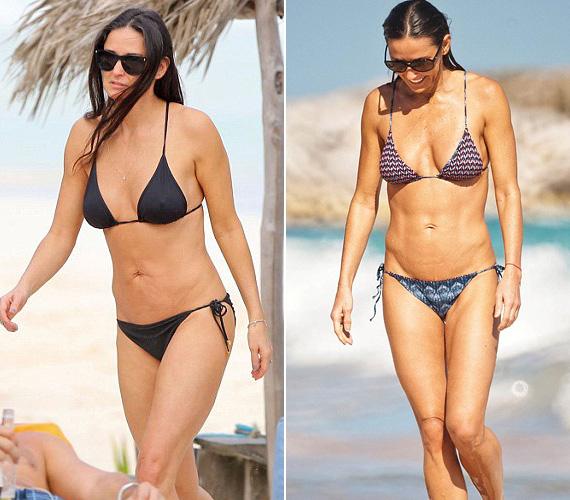 Demi Moore is szeret bikinibe bújni, de láthatóan semmi takargatnivalója nincs az 52 éves színésznőnek, már ami az alakját illeti. A sztár mindig is odafigyelt az alakjára, a G.I. Jane főszerepének eljátszása kedvéért pedig annak idején tekintélyes mennyiségű izmot is pakolt magára.