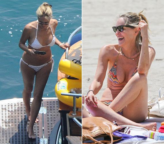 Sharon Stone-t 2013 nyarán fotózták le nyaralás közben, az akkor 55 éves színésznőt a People faggatta ki arról, mi karcsú alakjának titka. A sztár elmondta, hogy imád táncolni, mindemellett pedig súlyzós edzéseket vesz, mert úgy véli, 50 fölött így lehet igazán tónust adni a testének, hogy ne ereszkedjen meg túlságosan.