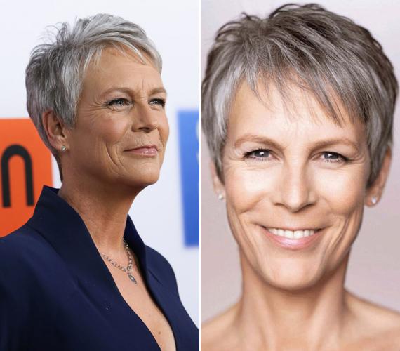 Természetesség mindenekfelett - vallja az 56 éves színésznő, Jamie Lee Curtis. Gyakran emlegeti, hogy a plasztikai műtétek nem széppé, sokkal inkább hátborzongatóvá teszik a nőket. Az utóbbi időben pedig már ősz hajával is demonstrál.