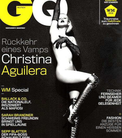 Christina Aguilera ismét  2010 májusában ismét nekivetkőzött Christina Aguilera, ezúttal a német GQ-nak, hogy ezzel is promotálja a Not Myself Tonight című kislemezét. A vele készült interjúban azt is bevallotta, szexisebbnek érzi magát, amióta édesanya lett.