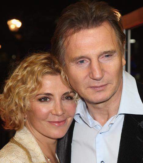 Liam Neeson  Liam Neeson egy szerencsétlen síbaleset következtében veszítette el imádott feleségét, Natasha Richardsont.