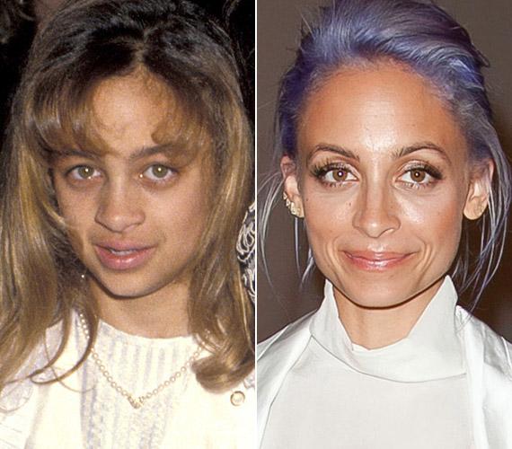 Nicole Richie-re rá sem lehet ismerni fiatalkori fotóján. A divattervező-színésznőnek jót tett a kor.