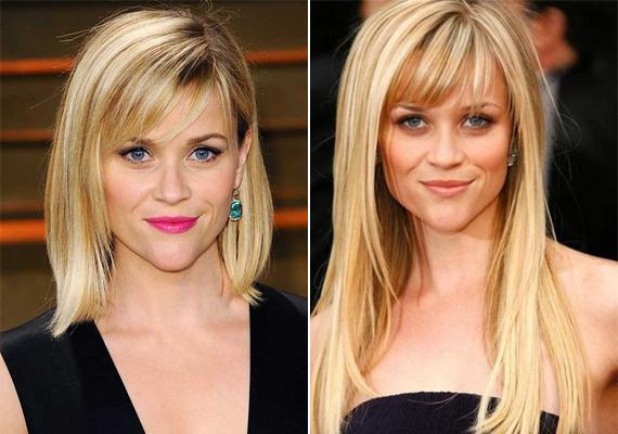 A 39 éves Reese Witherspoon nem adott sok munkát a fodrászoknak az elmúlt években, ami a hajvágást illeti. Rövidebb frizurája érettebbé varázsolta még ma is huszonéveseket leköröző külsejét.