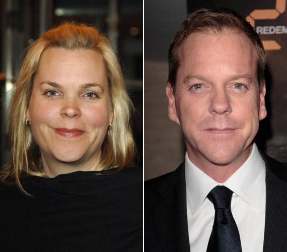 Kiefer Sutherland hét perccel született előbb, mint húga, Rachel. Ő is a filmszakmában dolgozik, de nem színészként, hanem producerként.