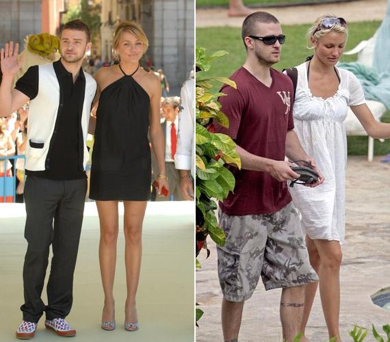 Cameron Diaz és Justin Timberlake a közöttük lévő nyolc év ellenére közel négy évig alkottak egy párt.