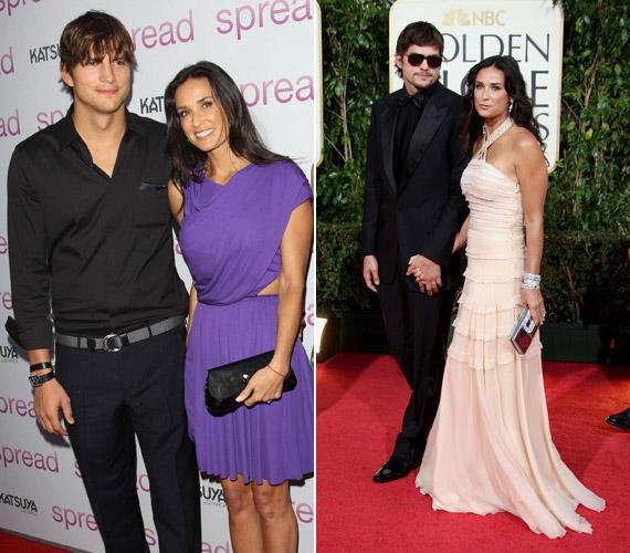 A 15 év korkülönbség ellenére Demi Moore és Ashton Kutcher hat évig voltak házasok, egészen tavaly őszig, amikor a hírek szerint a színész megcsalta feleségét.