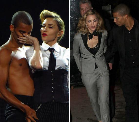Madonna mindig is vonzódott a fiatalabb pasikhoz, egykori férje, Guy Ritchie tíz, míg következő barátja, Jesus Luz modell 28 évvel volt kevesebb az énekesnőnél. 2011-ben pedig összejött háttértáncosával, Brahim Zaibattal, aki mindössze 24 éves.