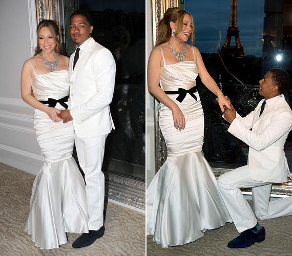 Mariah Carey sem veti meg a fiatal pasikat, 11 évvel idősebb férjénél, Nick Cannonnál.