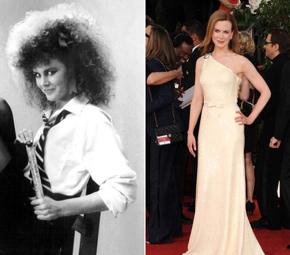 Nicole Kidman csúnyácska tinilányból az évek múlásával igazi szexszimbólummá vált.