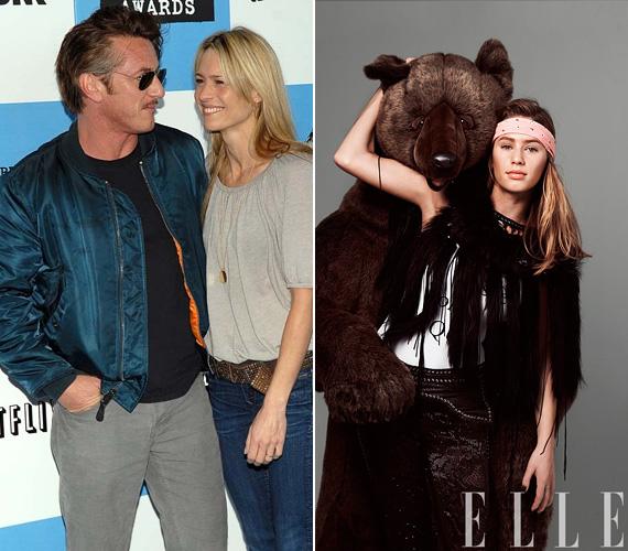 Sean Penn és Robin Wright lánya Dylan Penn, aki a Premiere modellügynökséggel áll szerződésben. A 23 éves sztárcsemete dolgozott már a Gapnek, és olyan magazinokban találkozgattak vele az olvasók, mint a GQ, a W vagy a 2014. márciusi Elle.