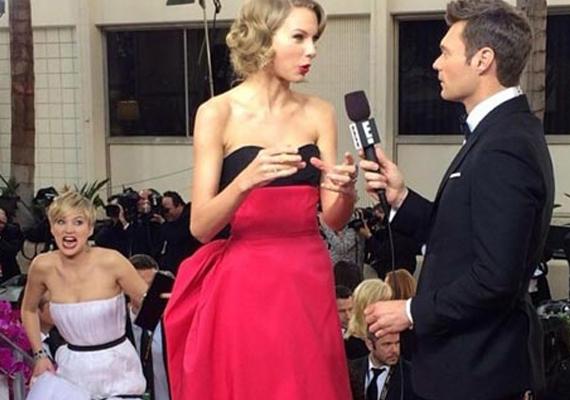 Jennifer Lawrence Taylor Swiftet viccelte meg.