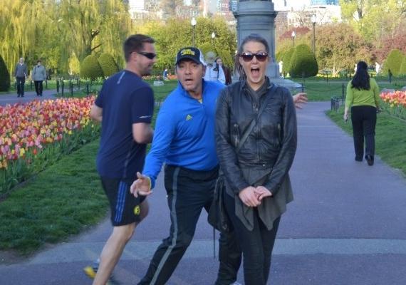 Kevin Spacey egy ismeretlen nő képébe kocogott bele.