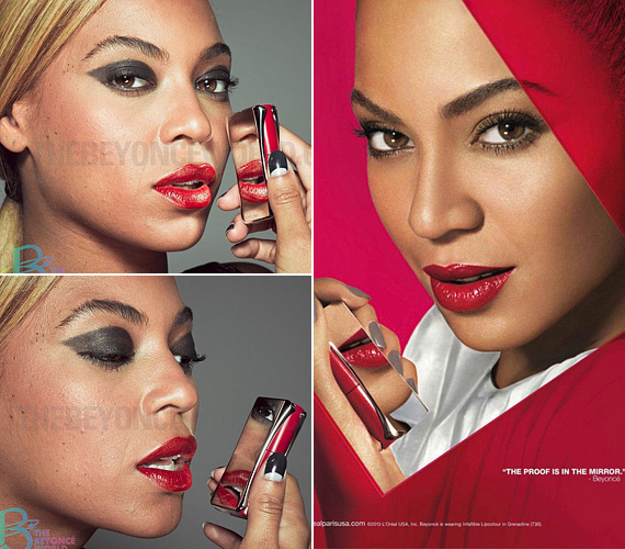 """A Beyoncé World által közzétett fotókon látszik, hogy Beyoncé arcán van néhány pattanás és anyajegy. Az énekesnőt fanatizáló rajongóknak - akik magukat BeyHive-nak hívják - azonban ez is sok volt, legalábbis ez tűnik ki a weboldalon közzétett üzenetből, amellyel az oldal szerkesztői a képek eltávolítását indokolták: """"A BeyHive-tól kapott pocskondiázó üzenetek késztettek minket arra, hogy levegyük a fotókat. Nem akarunk sem drámát, sem fanháborút, de amiket egyesek posztoltak a képek miatt, azok nagyon durva dolgok, és ebben mi nem akarunk részt venni. Csak az volt a célunk a fotók közzétételével, hogy megmutassuk, a királynőnk igazi természetes szépség, egyszersmind hétköznapi nő is."""""""