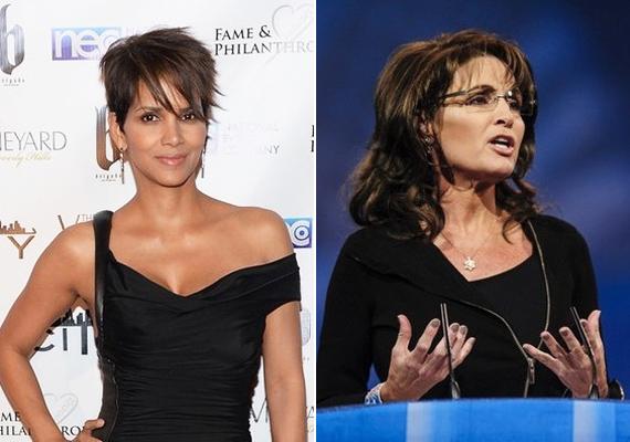 Halle Berry és Sarah Palin amerikai politikus távoli rokoni kapcsolatban állnak egymással, amit maga Halle vallott be egy interjú közben.