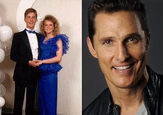 Alig ismertünk rá Matthew McConaughey-ra! Úgy tűnik, a színész csak évekkel később lett ilyen sármos.