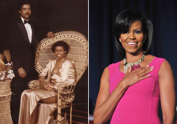 Michelle Obama már a szalagavatóján is úgy nézett ki, mint egy first lady. A felsliccelés kicsit merészre sikerült, de úgy ül abban a székben, akár egy királynő.