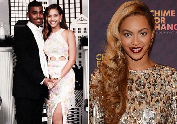 Beyoncé már akkor úgy festett, mint egy igazi királynő. Pedig reménykedtünk, hogy legalább a kamaszkori fotóin kevésbé istennős.