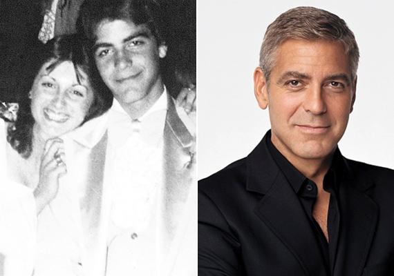 George Clooney-t csak huncut mosolya árulta el. Meglepő ilyen dús sörénnyel látni a régóta rövid hajú sztárt.