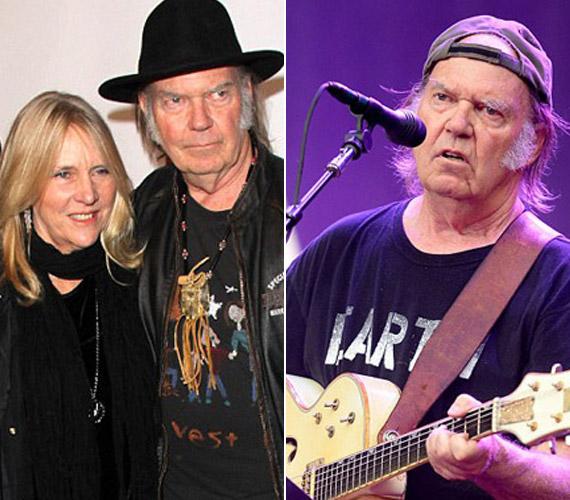 Neil Young 36 év házasság után adta be a válópert augusztus legvégén.A 68 éves rocklegenda és 61 éves felesége, Pegi Young nemcsak az életben alkotott egy párt, de a színpadon is, az asszony ugyanis háttérénekesként dolgozott a zenésszel, valamint több számát is ő ihlette - közülük talán az Unknown Legend a leghíresebb, amelyben a találkozásukat örökítette meg Young.