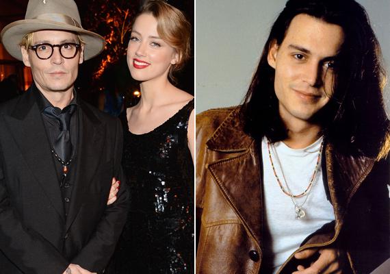Johnny Depp akkor is és most is igazán jóképű, az akkor 29 éves színész is remekül passzolna az ugyanennyi idős Amber Heardhöz.