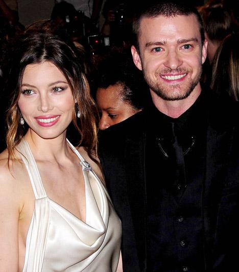 Jessica Biel és Justin Timberlake  A Hetedik mennyország egykori gyereksztárja 2007-ben jött össze Justin Timberlake-kel, és bár szakításukról gyakorta felrepülnek a pletykák, láthatóan nagy az összhang közöttük - ami talán annak is köszönhető, hogy Jessica szemet huny párja félrelépsei felett. Mindenesetre 2011 végén bejelentették eljegyzésüket.