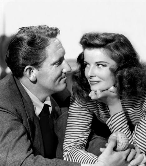 Katherine Hepburn és Spencer Tracy  Hollywood egyik leghíresebb álompárja kilenc filmben szerepelt együtt. 1941-ben szerettek egymásba, de sosem álltak az oltár elé. Habár mindkettejüknek több viszonya is volt, Hepburn öt évre visszavonult, hogy beteg szerelmét ápolja.