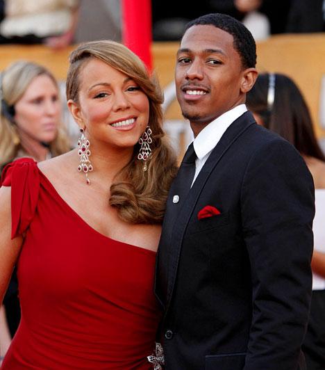 Mariah Carey és Nick Cannon  A Grammy-díjas énekesnőt 2008. április 30-án egy privát ceremónia keretén belül vette feleségül Nick Cannon a Bahamákon. Ikreik 2011 áprilisában jöttek a világra.  Kapcsolódó cikk: Az első babafotók! Mariah Carey 7 hónap után végre megmutatta ikreit »