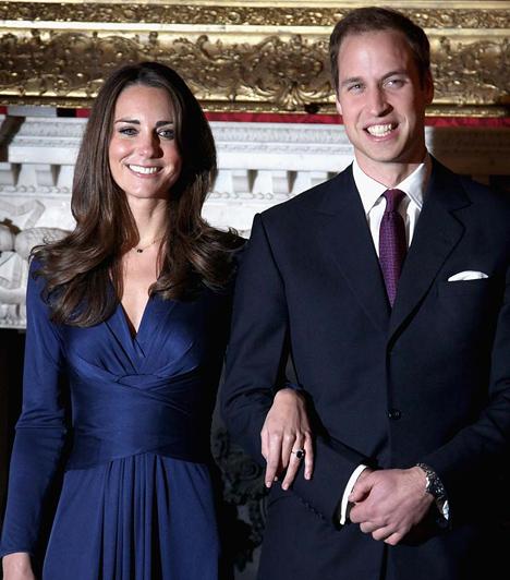 Vilmos herceg és Kate Middleton  A britek sokáig találgatták, ki lesz majd Vilmos herceg felesége, és úgy tűnik, Diana nagyobbik fia rátalált a szerelemre egykori egyetemi diáktársa, Kate Middleton oldalán. A nagy esküvőre 2011. április 29-én került sor, a ceremóniát világszerte hatalmas érdeklődés övezte.  Kapcsolódó képgaléria: Vilmos és Kate esküvőjének legszebb pillanatai »