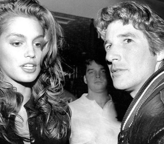 Richard Gere és a topmodell Cindy Crawford 1991-ben házasodtak össze, de ők is elváltak három év múlva.