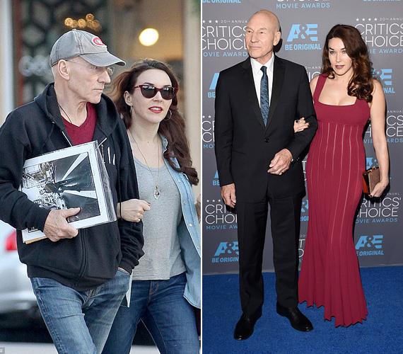 Patrick Stewartot a hétvégén kapták le fiatal feleségével Nyugat-Hollywoodban sétálgatva. A 74 éves, kétszer elvált színész 2008-ban kezdett el randizgatni a nála 38 évvel fiatalabb Sunny Ozell énekes-dalszerzővel, akivel New Yorkban találkozott egy Macbeth-előadás alkalmával. 2012-ben költöztek össze, egy évvel később pedig kimondták az igent.