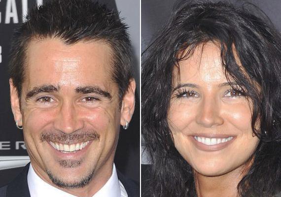 Colin Farrell testvére, Claudine a színész asszisztenseként dolgozik.