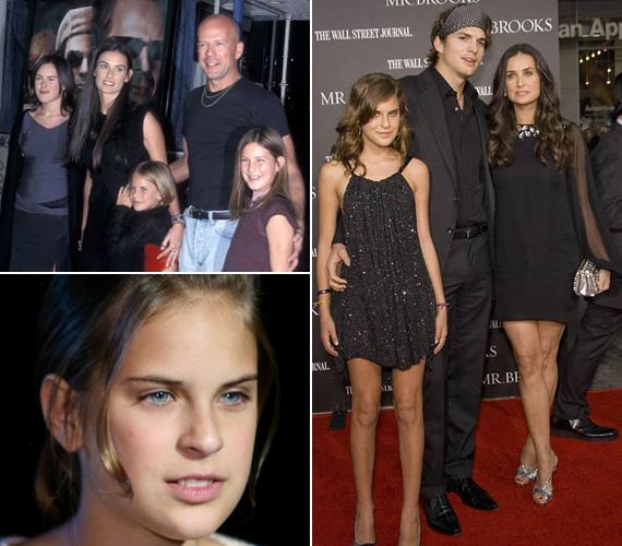 2001-ben a Banditák című film premierjére együtt érkeztek a gyerekek és ekkorra már elvált szüleik, akik továbbra is jó viszonyban maradtak. 2005-ben Tallulah már anyjával és annak új párjával, Ashton Kutcherrel lépett pózolt a vörös szőnyegen.