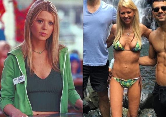 A bájos színésznőre megint alig lehet ráismerni, annyira lefogyott. A képen jól látszik, hogy szinte csont és bőr, a bikinialsója is alig akar rajta maradni.