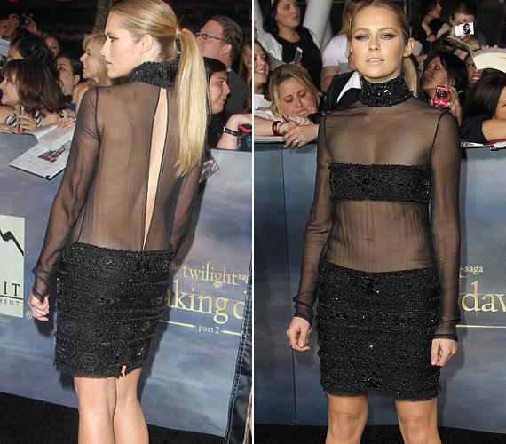 A 26 éves színésznő egy Emilio Pucci darabot választott a Twilight premierjére.