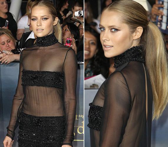 A színésznő hiába igyekezett, nem tudta ellopni a show-t Kristen Stewarttól.