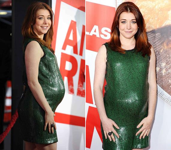 Alyson Hannigan január elején hozta nyilvánosságra, hogy második gyermekét várja. Kislánya, Satyana 2009. március 24-én, a színésznő születésnapján jött világra.