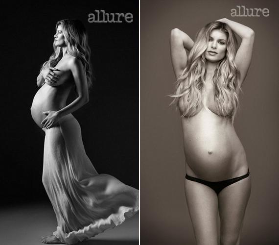 Marisa Miller modellt ruha nélkül kapták le az Allure magazin számára.