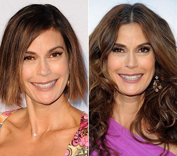 A nők sokszor azért döntenek egy rövid frizura mellett, mert az fiatalítja őket, ám a 47 éves Teri Hatcher rövid frizurájával semennyivel nem tűnik fiatalabbnak, mint amennyi, sőt, csak felhívja a figyelmet a ráncaira.