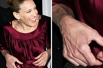 Sarah Jessica Parker eres kézfeje