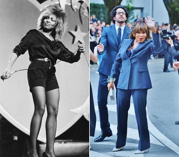 Tina Turner Milánóban is mindenkit lenyűgözött, amikor részt vett az Armani 40. évfordulója alkalmából rendezett ünnepségen. Mintha egyetlen évet sem öregedett volna, energikussága pedig ugyanolyan, mint a nyolcvanas években.