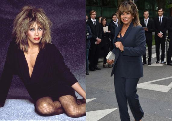 Nagy ünneplés várható Tina Turner születésnapján, ennek apropójából készítették ezt a bal oldali plakátfotót, amelyen Tina Turner mély dekotázzsal és rövid ruhában pózol. A rocknagyi szexi és sokat sejtető stílusa mellett megmutatkozik elegáns oldala is, ahogy ez a jobb oldali fotón látható, amelyet az idén öltött magára egy rendezvény keretén belül.