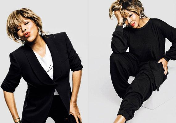 Legutoljára a rocknagyi 2 évvel ezelőtt szerepelt a német Vogue címlapján, ahol nagyon ízléses, elegáns fotókat készítettek a díváról. Ő lett a legidősebb címlaplány a Vogue történetében. A fotókon jól látszik, 2 év alatt sem öregedett semmit az énekesnő.