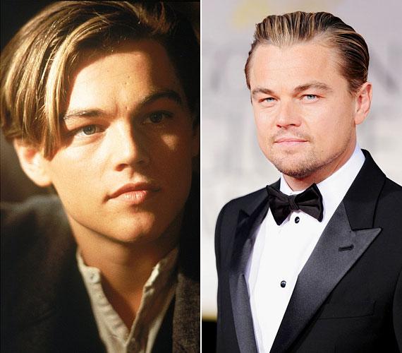 Leonardo DiCaprio már 37 éves: arca elvesztette lányos vonásait és ráncokkal barázdált, markánsabb, férfiasabb jelleget öltött.